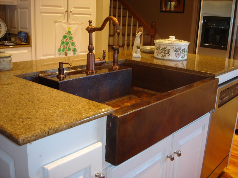 Copper Sink ...