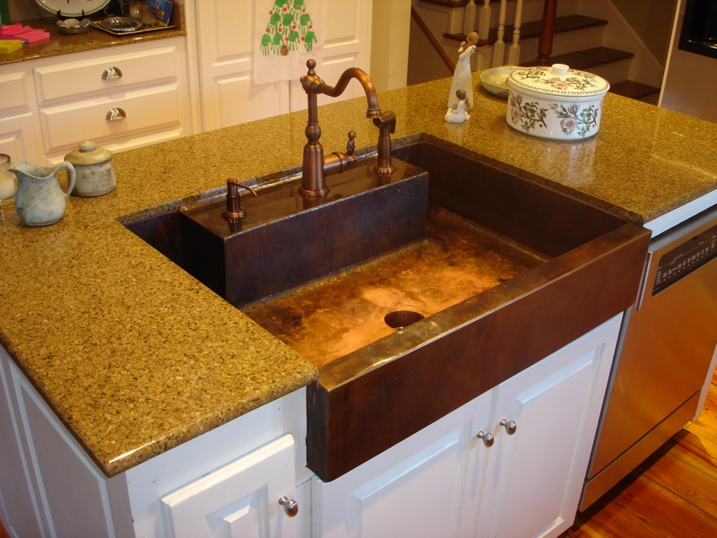 Copper Sink Copper Kitchen Sink ...