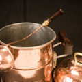 Hand Crafted Copper Soup Pot