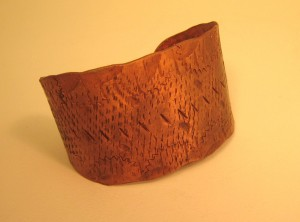 Handmade Copper Jewelry Cuff Bracelet