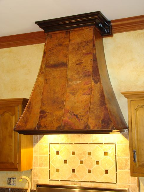 Organic Beauty Products >> Custom Vent Hoods, Copper Vent Hoods